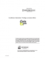 Individuelle – Privilège (Moto)