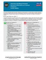 IPID – Assistance Premium (06/2019)