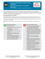 Fiche IPID Individuelle Accident Premium et Sérénité